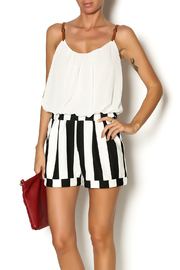 Double Zero Blouson Top Romper - Product Mini Image