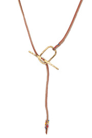 Cinq Lariat - Back cropped