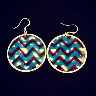 Uniting all Textile Earrings  - Instagram Image