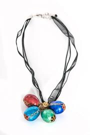 Working Actress Productions Tibetan Eggshell Necklace - Product Mini Image