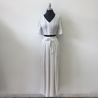 Unknown Factory White Two Piece Set - Instagram Image