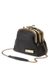 Shoptiques Product: Three-Clasp Leather Bag