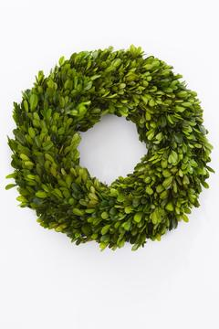 Shoptiques Product: Boxwood Wreath Preserved