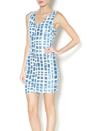 t.l.b.d. Aqua Sheath Dress - Product Mini Image