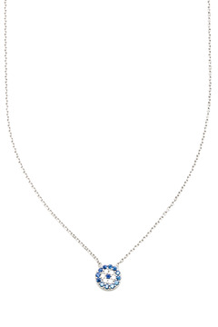 Shoptiques Product: Mini Evil Eye Necklace