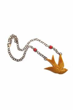 Hotcakes Design Swallow Necklace - Product List Image
