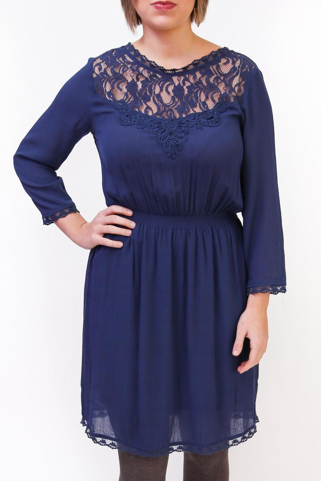 Gentle Fawn Duchess Lace Dress - Front Cropped Image