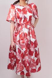 Jeanne D'Arc Red Flower Dress - Product Mini Image