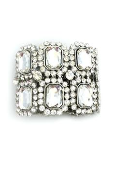Bling Bling Sisters Rhinestone Accented Bracelet - Product List Image