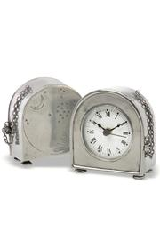 Match Pewter Pewter Table Clock - Product Mini Image
