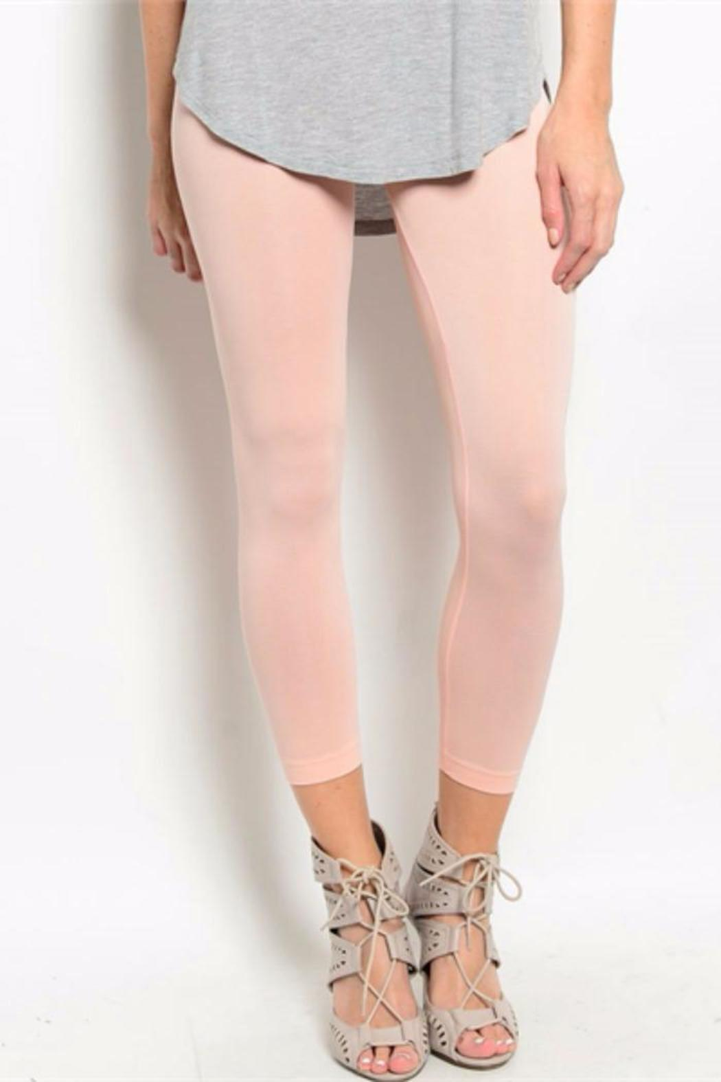 Soho Girls Peach Capri Leggings From Indiana By Lucy