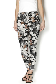 Coco and Carmen Ivory Flowered Legging - Product Mini Image