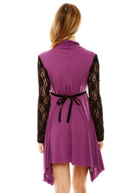 ToughLove Lace Sleeve Dress - Back cropped