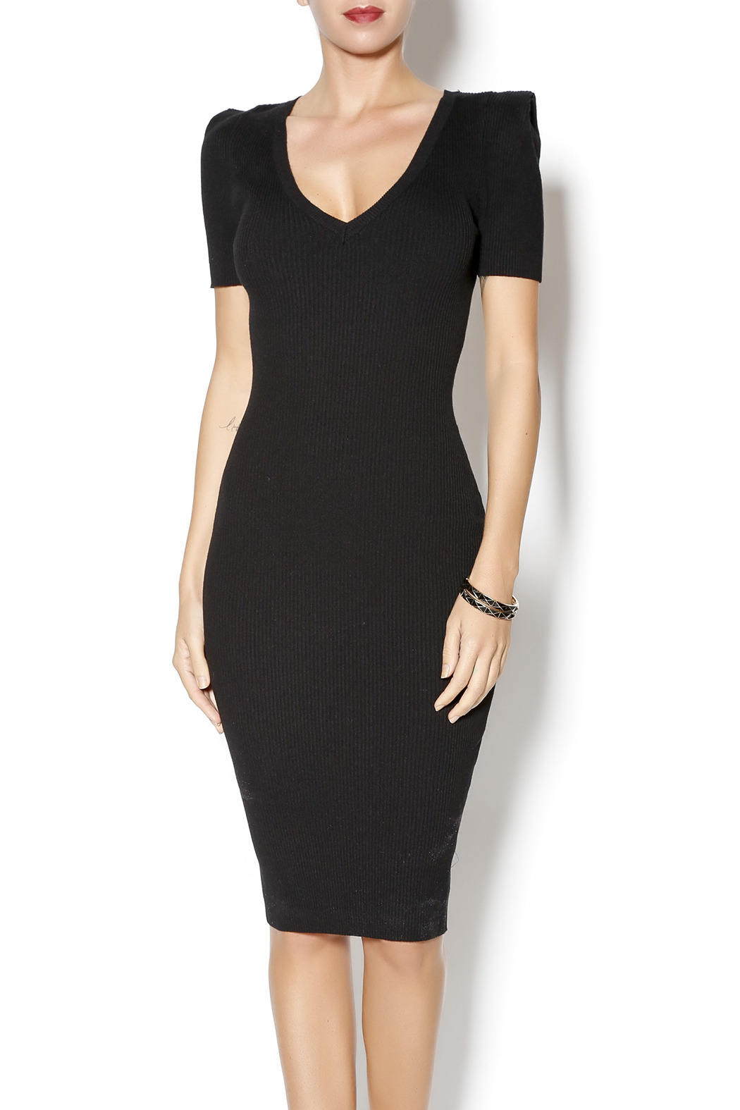 Cashmere Classic black dress from Manhattan by Dor L'Dor — Shoptiques