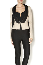 Whitney EVE Whitney Eve Cut-Out Blazer - Front cropped