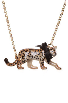Shoptiques Product: Leonard Leopard Necklace
