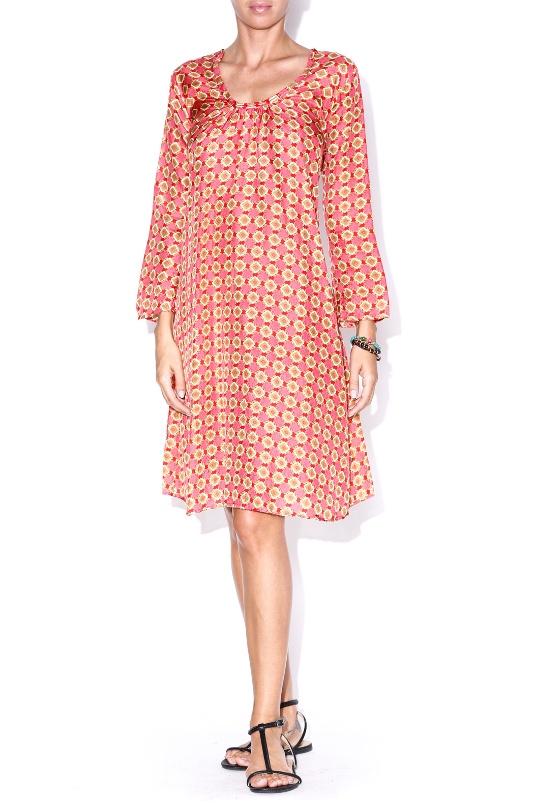 matta Grapefruit Telia Dress - Main Image