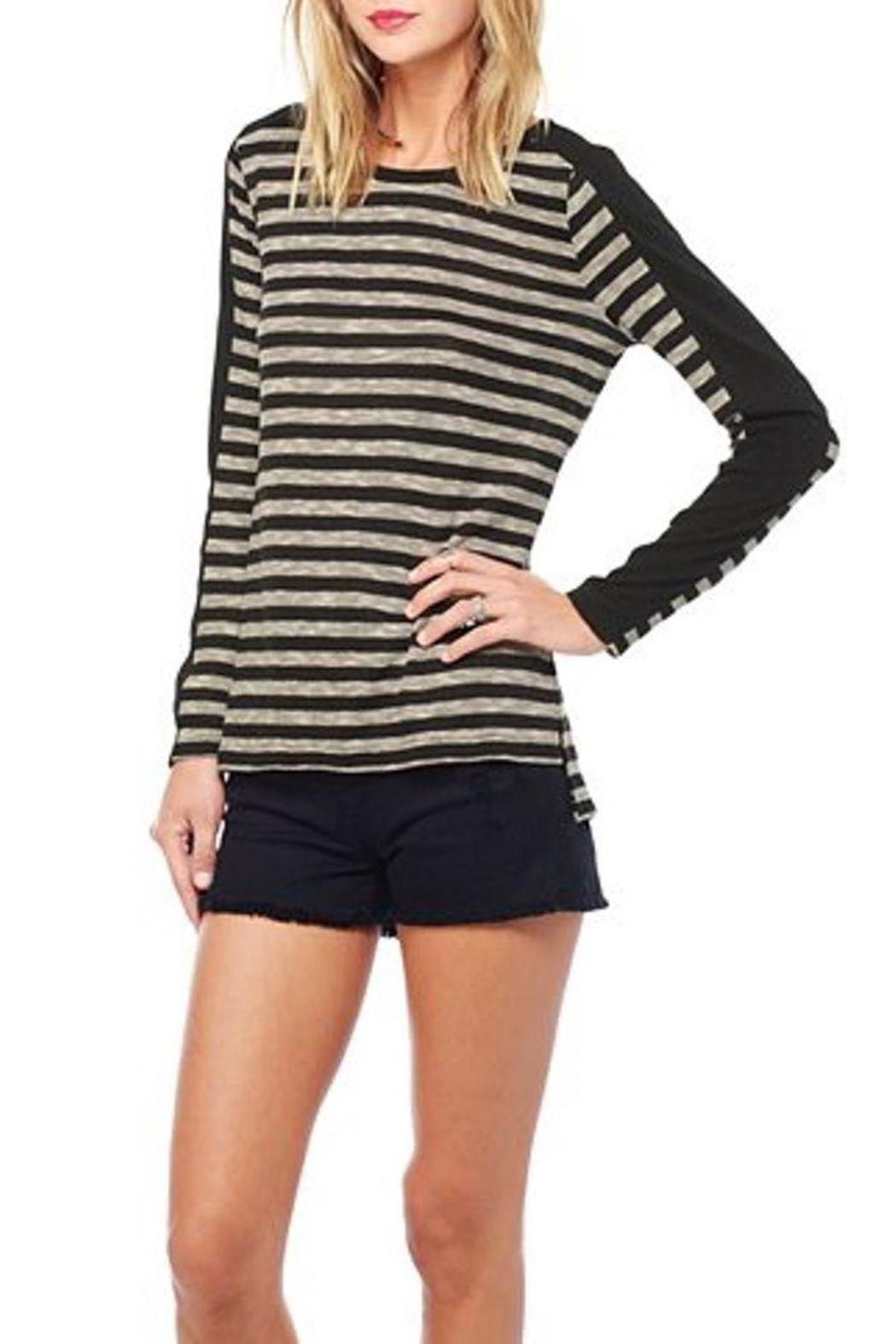 Jack by BB Dakota Fitz Striped Top - Front Cropped Image