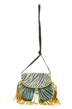 Lalla Marrakech Patchwork Fringe Crossbody - Alternate List Image