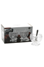 Godinger Salt & Pepper Cellars - Product Mini Image