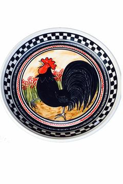 Shoptiques Product: Rooster Shallow Bowl