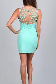 Ark & Co. Strappy Bodycon Dress - Front full body