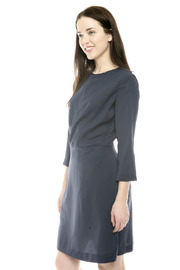 Moon Wrap Front Cocktail Dress - Side cropped