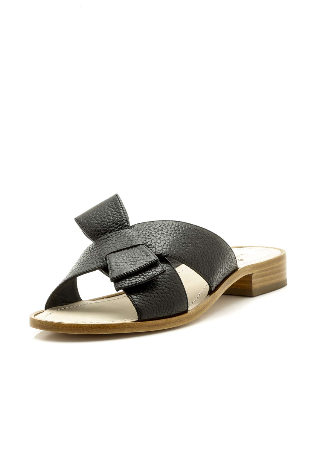 Kate Spade New York Crossover Leather Sandal From Boston