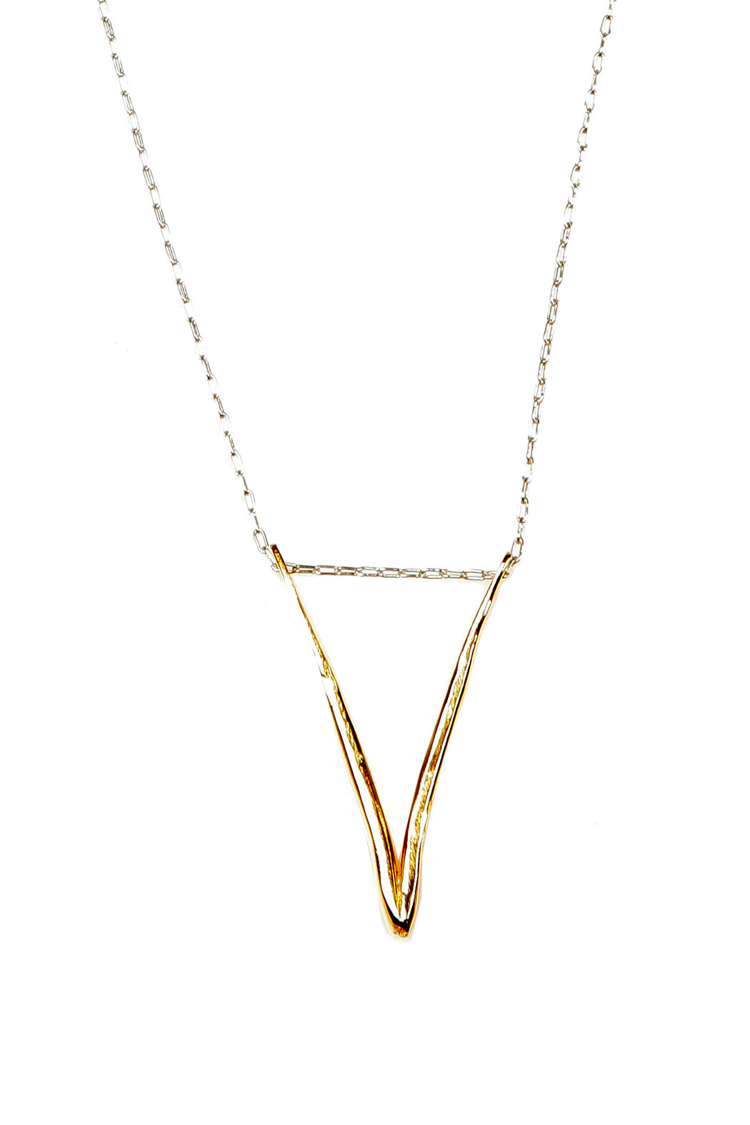 The J Line by Lady J Jewelry Gold Valentine Necklace - Main Image