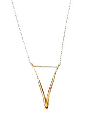 Shoptiques Product: Gold Valentine Necklace
