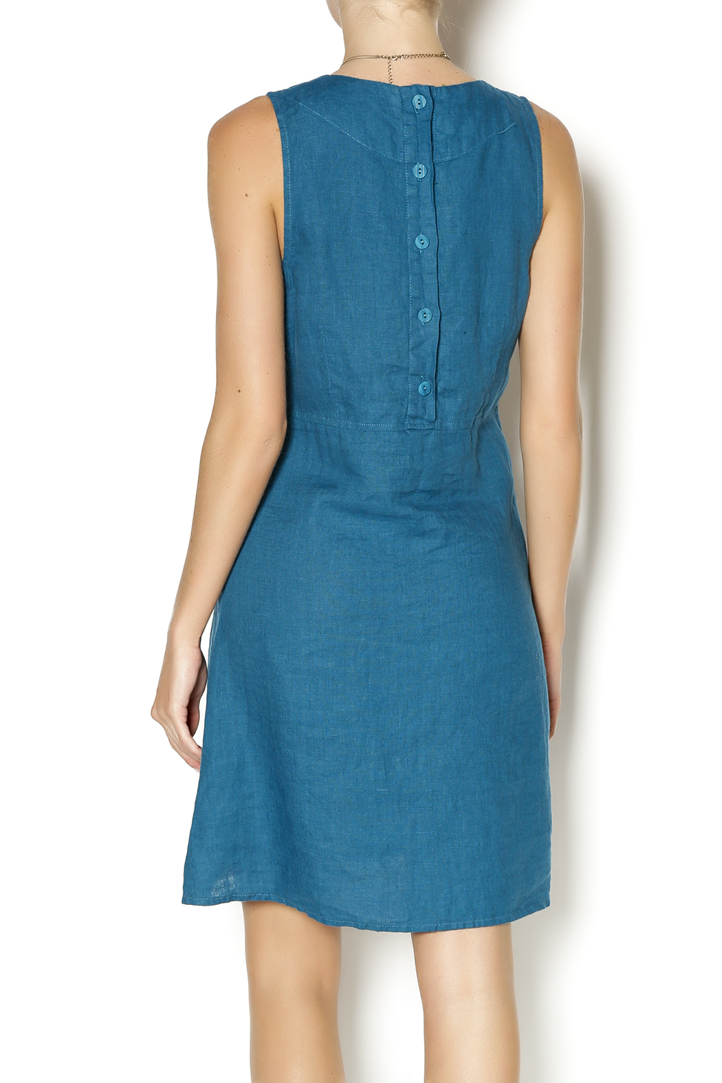 Flax Linen Shift Dress From Ohio By Youniques Boutique