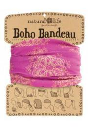Natural Life Boho Bandeau Pink - Product Mini Image