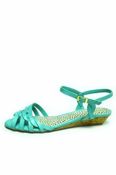 Bamboo Braided Mint Sandal - Product List Image