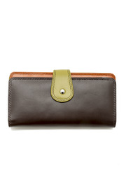 ILI Colorblock Wallet - Front cropped