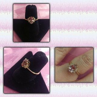 Shoptiques Pink Diamond Ring