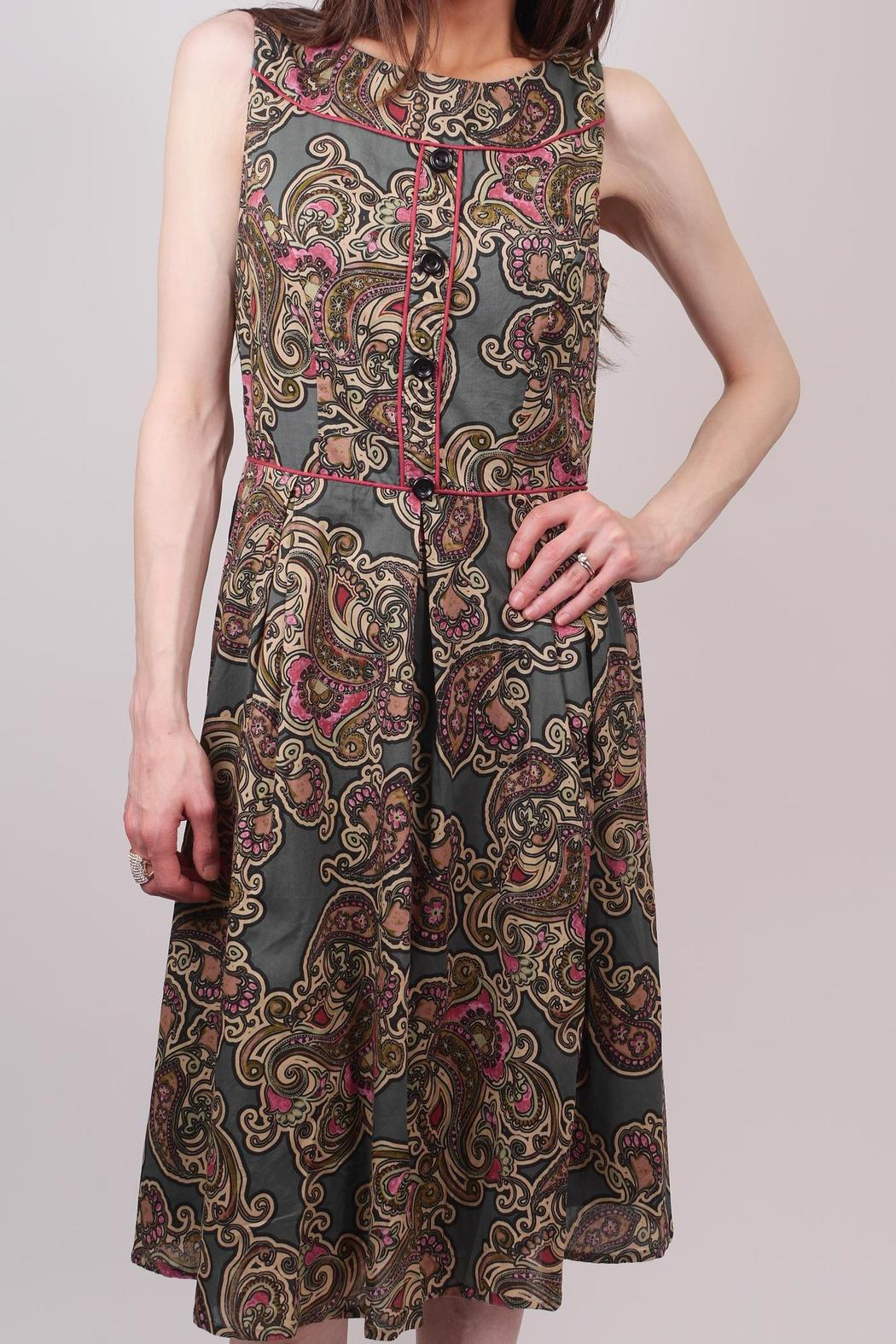 96db507de661c Aryeh Paisley Sage Dress from New Jersey by Pink Orchid — Shoptiques