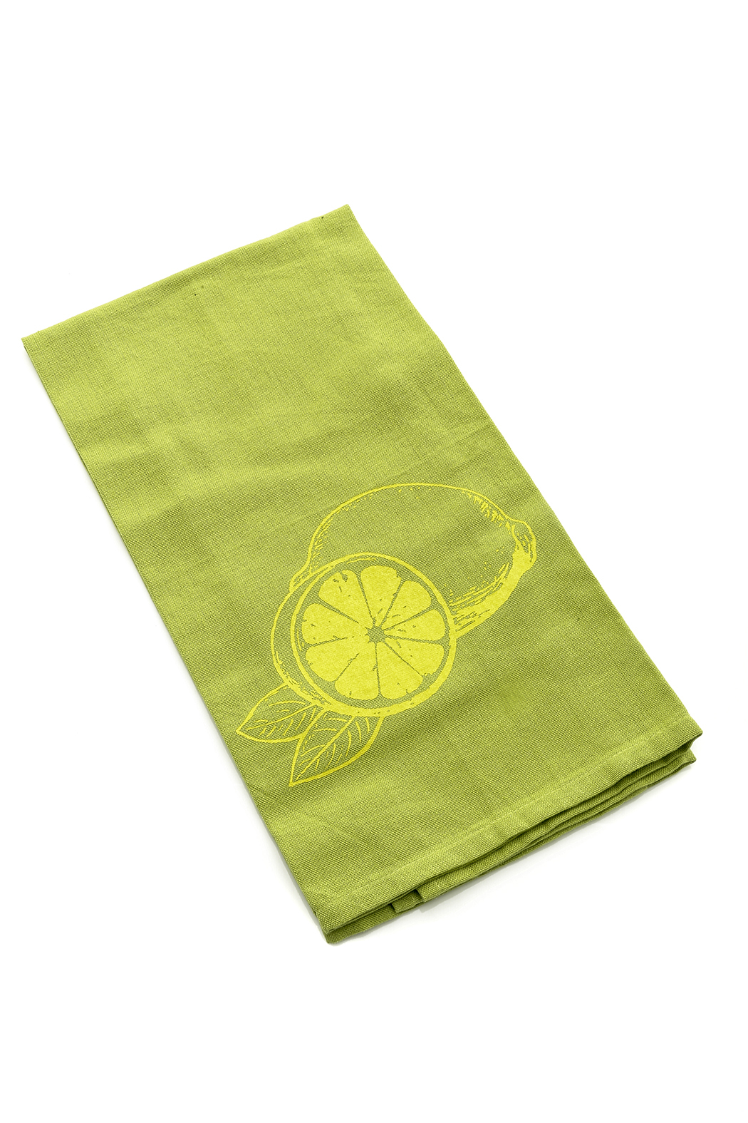 counter couture Lemon Lime Tea Towels - Front Cropped Image