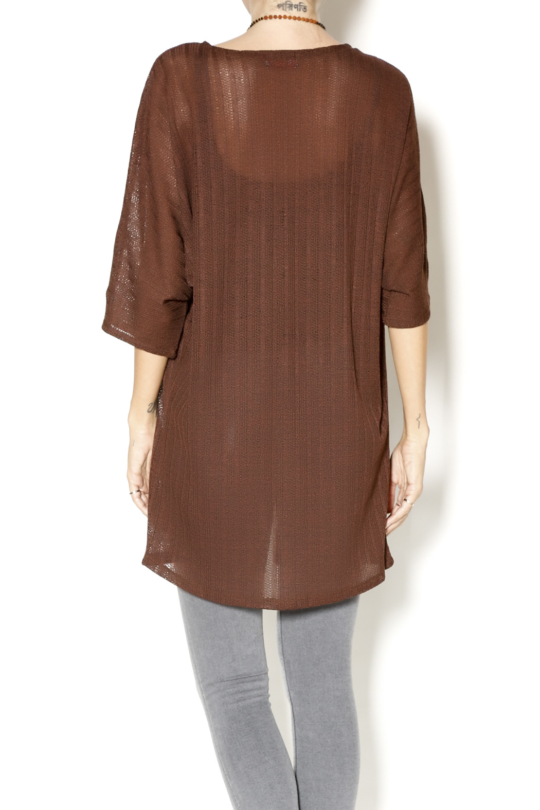 Haus of Vixen Chocolate Brown Kimono Cardigan from Louisville by ...