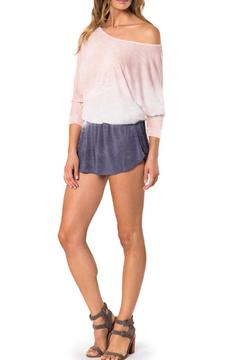 Young Fabulous & Broke Pink Ombre Romper - Alternate List Image