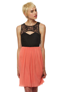 Ya Los Angeles Lace Top Dress - Product List Image