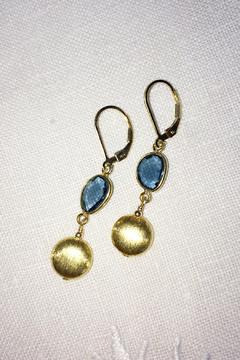 Melinda Lawton Jewelry London Blue Earrings - Alternate List Image