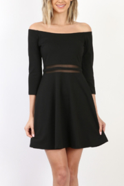 Mary Clan Fab Black Dress - Product Mini Image