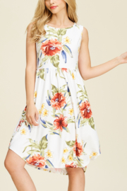 White Birch  Fab Floral Midi - Product Mini Image