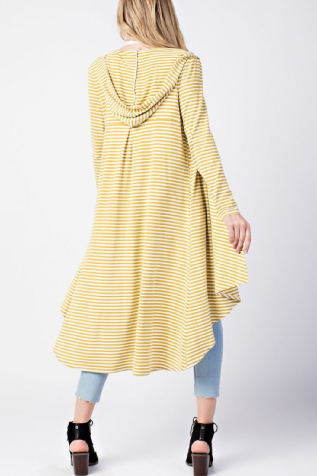 Mittoshop Fab Stripe Duster - Front Full Image