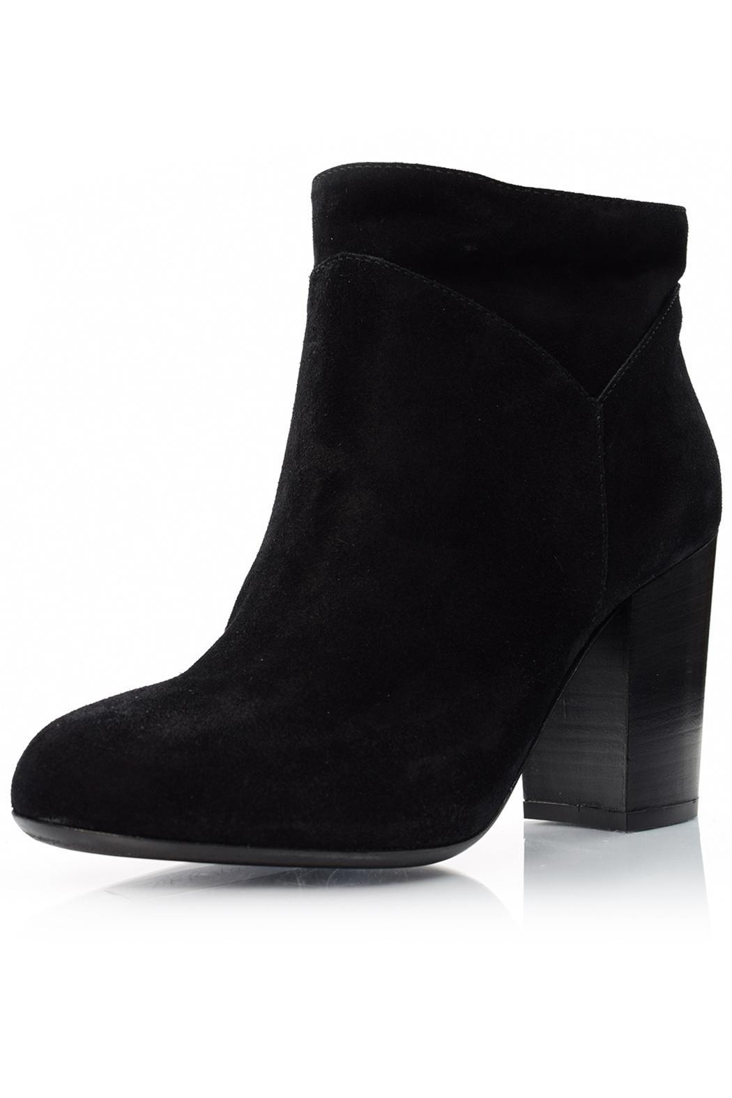 Fabio Rusconi Chunky Suede Bootie - Front Cropped Image