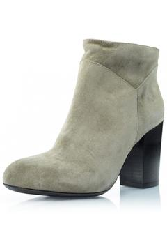 Shoptiques Product: Taupe Suede Bootie