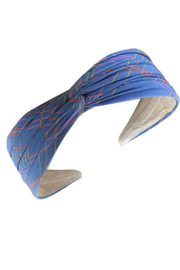 Pin & Tube Fabric covered headband - Front cropped