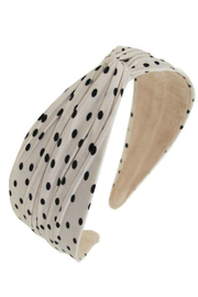 Pin &Tube Fabric covered headbands - Product Mini Image