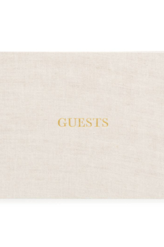 Sugar Paper Fabric Guest Book - Product List Image