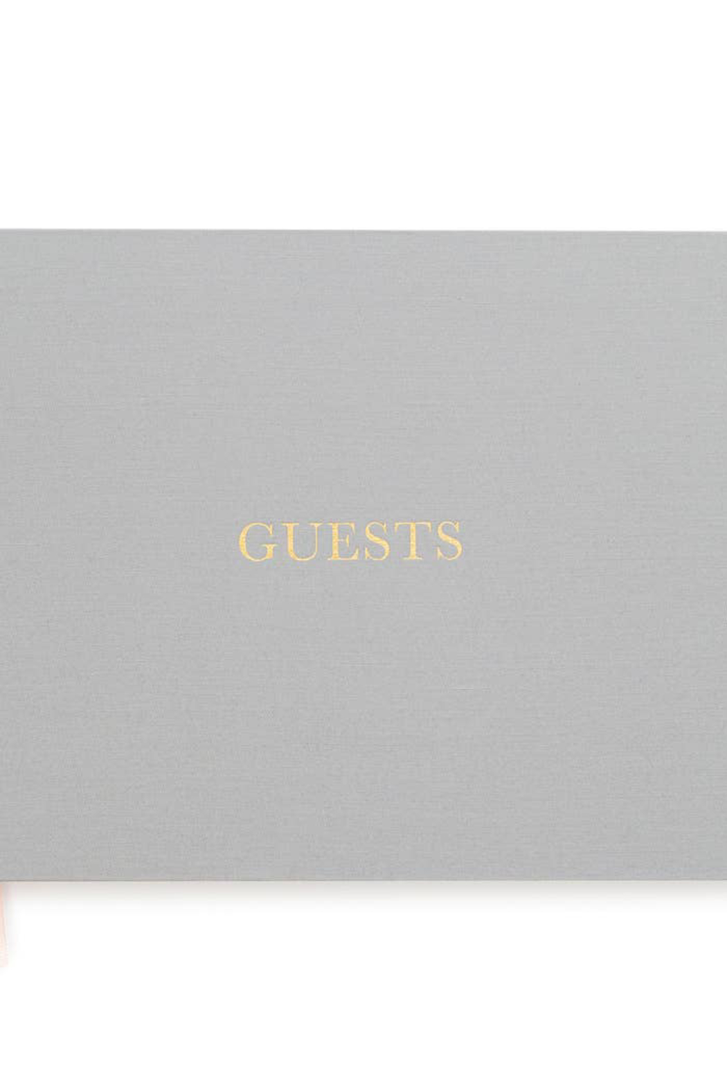Sugar Paper Fabric Guest Book - Front Cropped Image